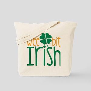 Wee Bit Irish Tote Bag