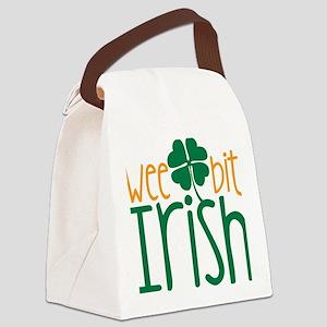 Wee Bit Irish Canvas Lunch Bag