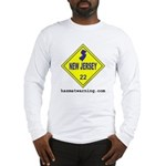 New Jersey State Flag Long Sleeve T-Shirt
