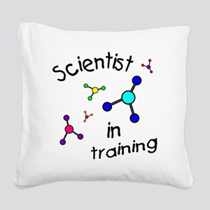 T baby molucule-001 Square Canvas Pillow