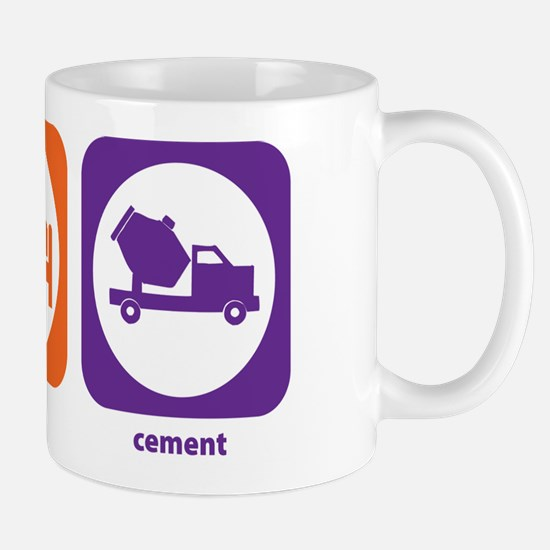 Eat Sleep Cement Mug