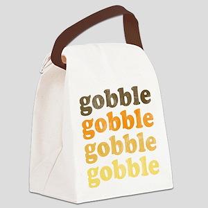 Thanksgiving Retro Canvas Lunch Bag