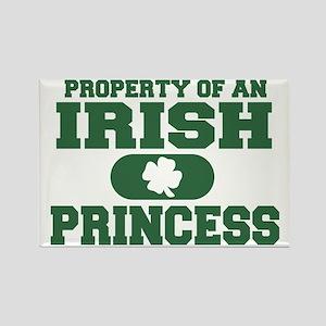 Property of an Irish Princess Rectangle Magnet