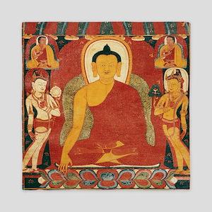 Vintage Buddha Queen Duvet