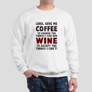 Coffee and Wine Sweatshirt