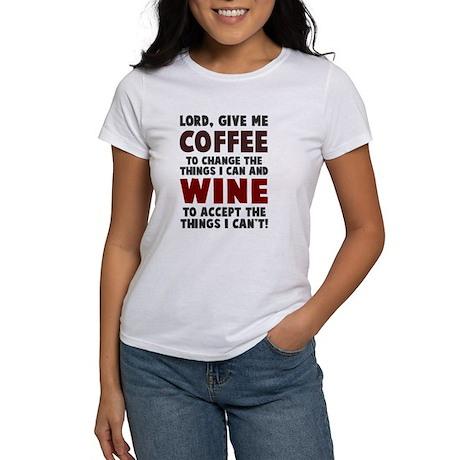 Coffee and Wine Women's T-Shirt