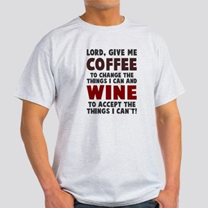Coffee and Wine Light T-Shirt