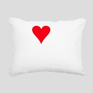 iheartzuchon_black Rectangular Canvas Pillow