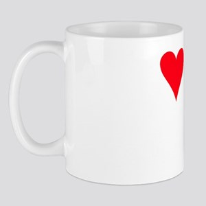 iheartzuchon_black Mug