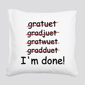 gardtuet Square Canvas Pillow