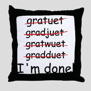 gardtuet Throw Pillow