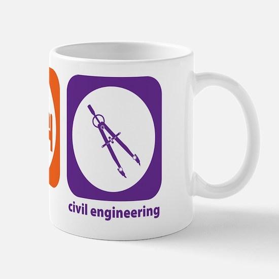 Eat Sleep Civil Engineering Mug