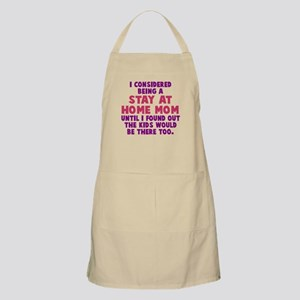 Stay At Home Mom Apron