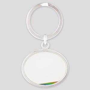 Born This Way Oval Keychain