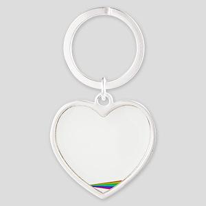 Born This Way Heart Keychain