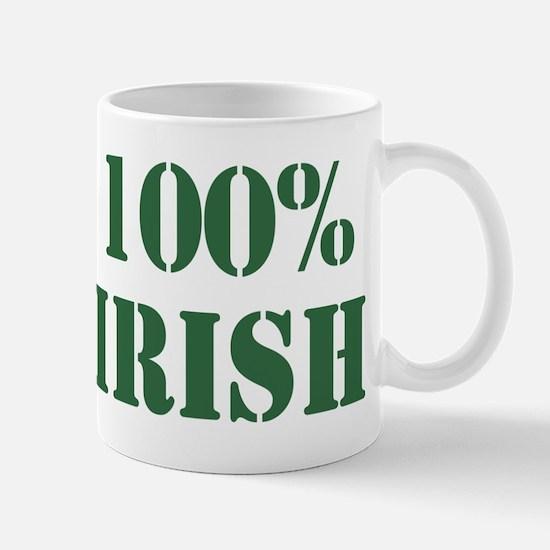 100% Irish Mug