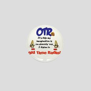 OTR Imagination Old Time Radio Mini Button