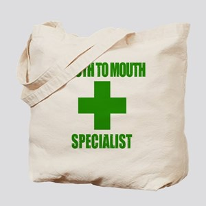 Mouth To Mouth Specialist Tote Bag