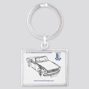 Triumph Tr6 Keychains Cafepress