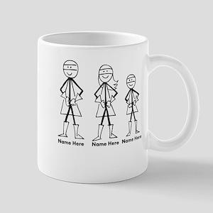 Personalized Super Family Mug