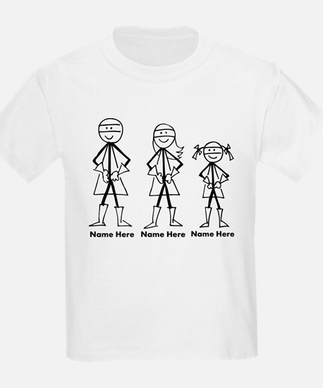 Personalized Super Family T-Shirt