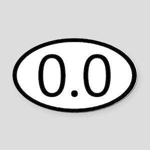 0.0 Car Magnet