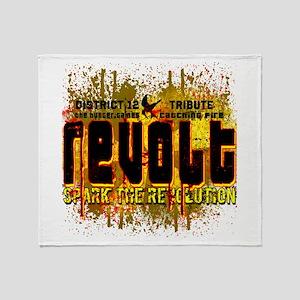 Customize Revolt! Throw Blanket