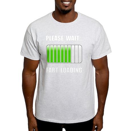 Fart Loading White Light T-Shirt