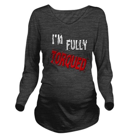 torqued3 Long Sleeve Maternity T-Shirt
