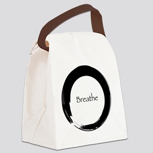 Remember to Breathe Canvas Lunch Bag