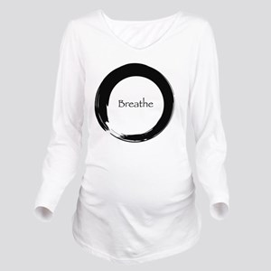 Remember to Breathe Long Sleeve Maternity T-Shirt