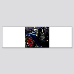 flathead v8 hotrod Bumper Sticker