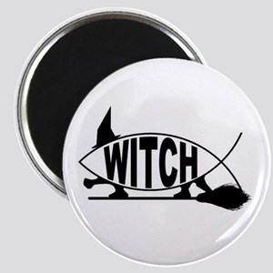 Witch Fish Magnet