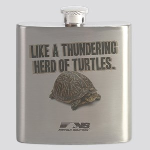 Like A Thundering Herd of Turtles NS Flask