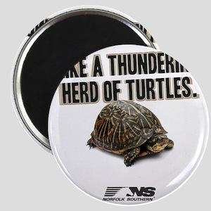 Like A Thundering Herd of Turtles NS Magnet