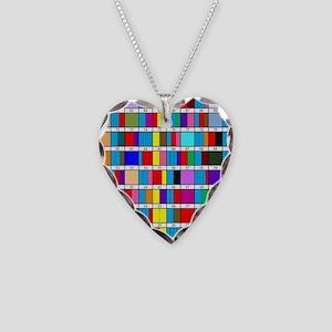 Prime Factorization Chart Necklace Heart Charm
