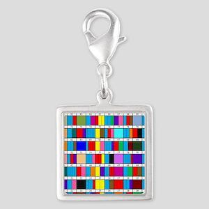 Prime Factorization Chart Silver Square Charm