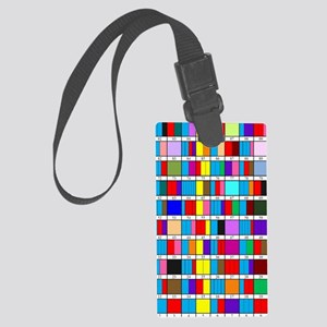 Prime Factorization Chart Large Luggage Tag