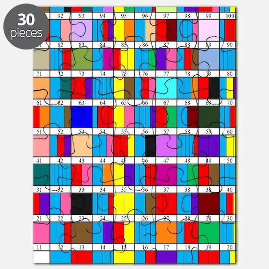 Prime Factorization Chart Puzzle