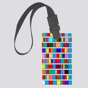 Octal Prime Factorization Chart Large Luggage Tag