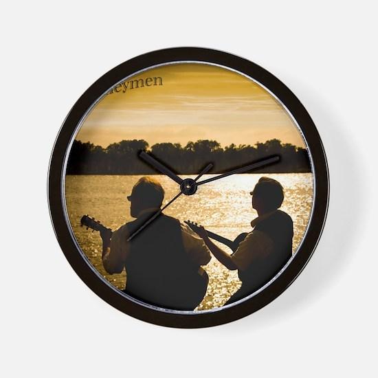 Journeymen Sunset Wall Clock