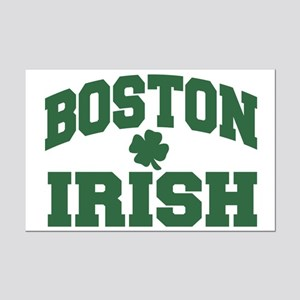 Boston Irish Mini Poster Print