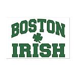 Boston Irish Mini Poster Print