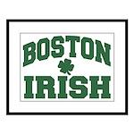 Boston Irish Large Framed Print