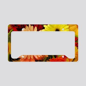 Horizontalclutch-gerberadaisi License Plate Holder