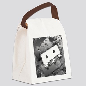 Cassette Tape Art Canvas Lunch Bag