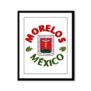 Morelos Framed Panel Print