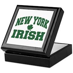 New York Irish Keepsake Box