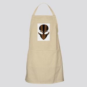 The Brown Alien Spike BBQ Apron