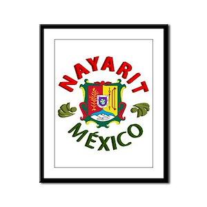 Nayarit Framed Panel Print